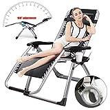 Klappbarer Verstellbarer Relaxsessel Liege-Stuhl 40Mm Stahlrahmen Bis 150 Kg Belastbar, Garten, Balkon Sonnenliege