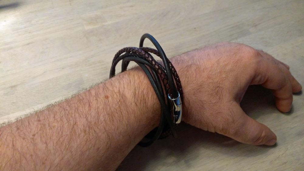 Leder-Armband für stärkere Handgelenke selbst machen