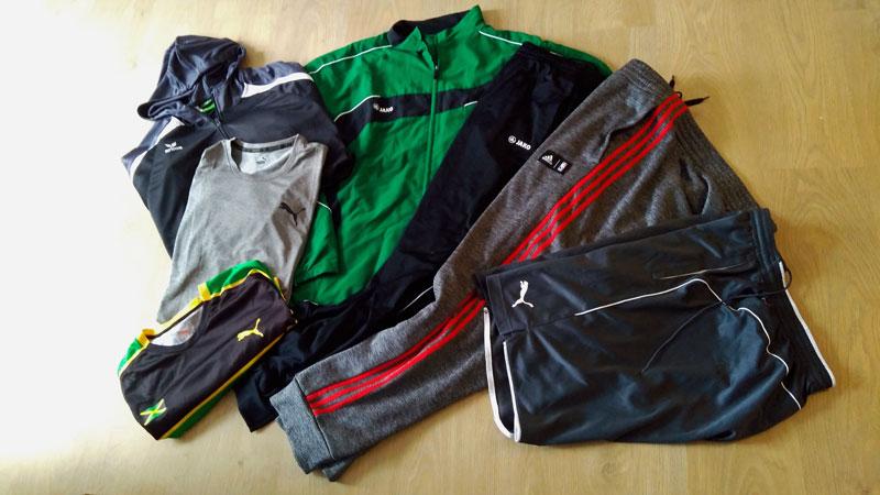 Sportbekleidung für Herren in Übergröße