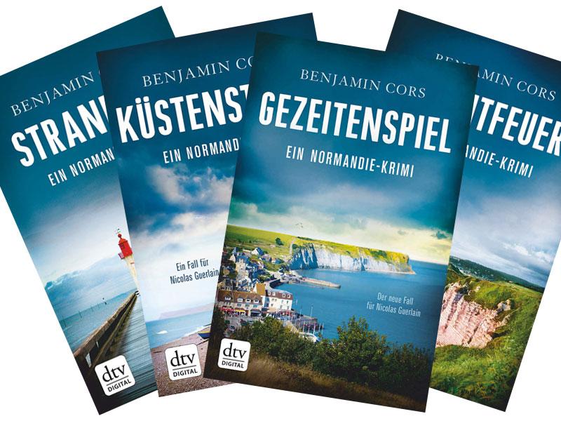 "Buchreihe ""Nicolas Guerlain"" von Benjamin Cors"