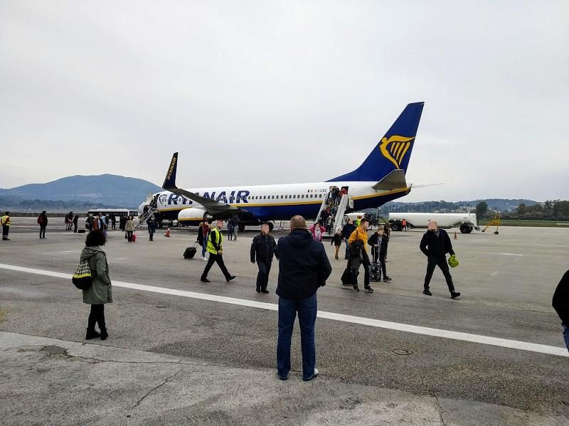 Fliegen mit Übergewicht bei Ryanair / Laudamotion