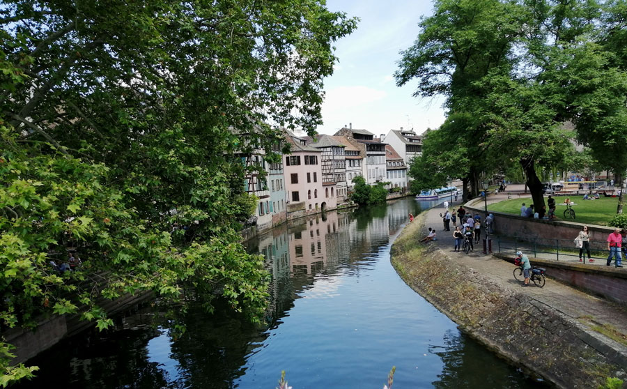 Straßburg und das Hotel Boma