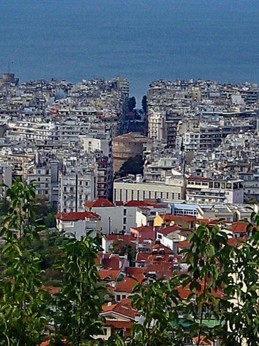 Ausblick Thessaloniki