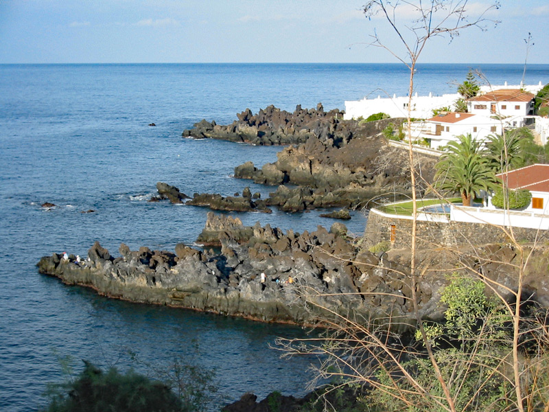 Küste Teneriffas