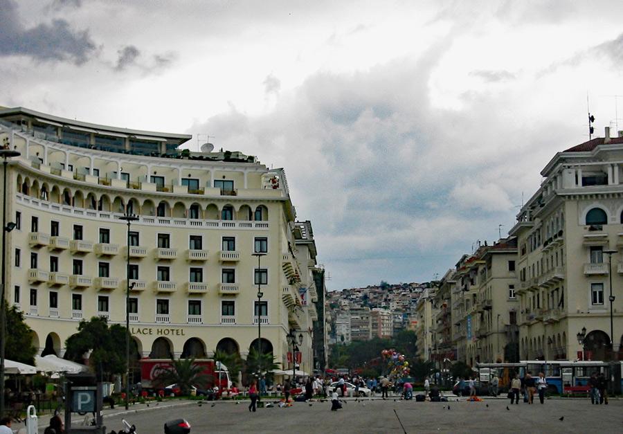 Thessaloniki – Stadt der Götter mit Blick auf den Olymp