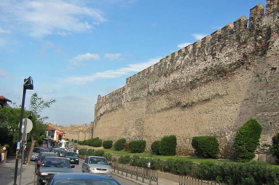 Stadtmauer Thessaloniki